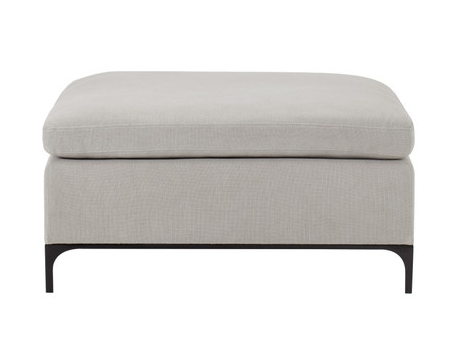 Large Square Italian Inspired Ottoman