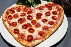 Heart Shaped Pizza Package