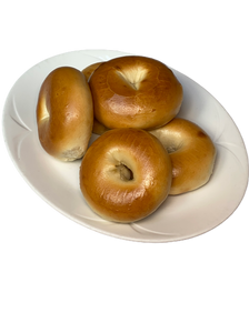 Plain New York Bagels