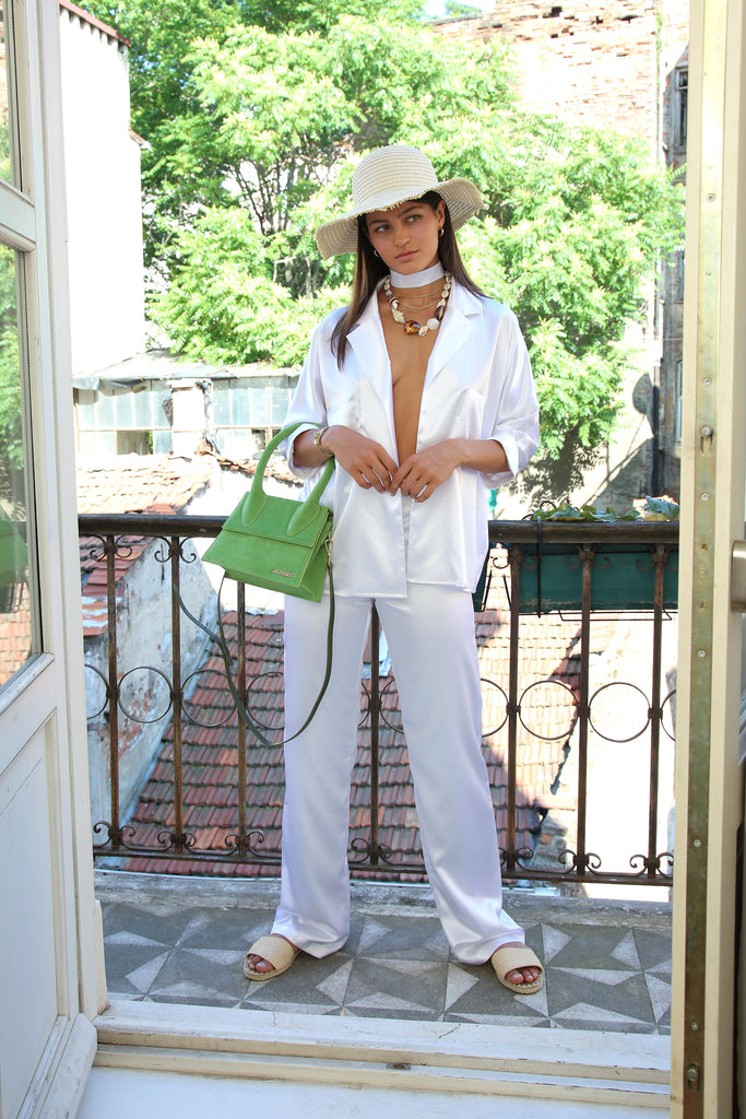 Juan Les Pins Pants in White