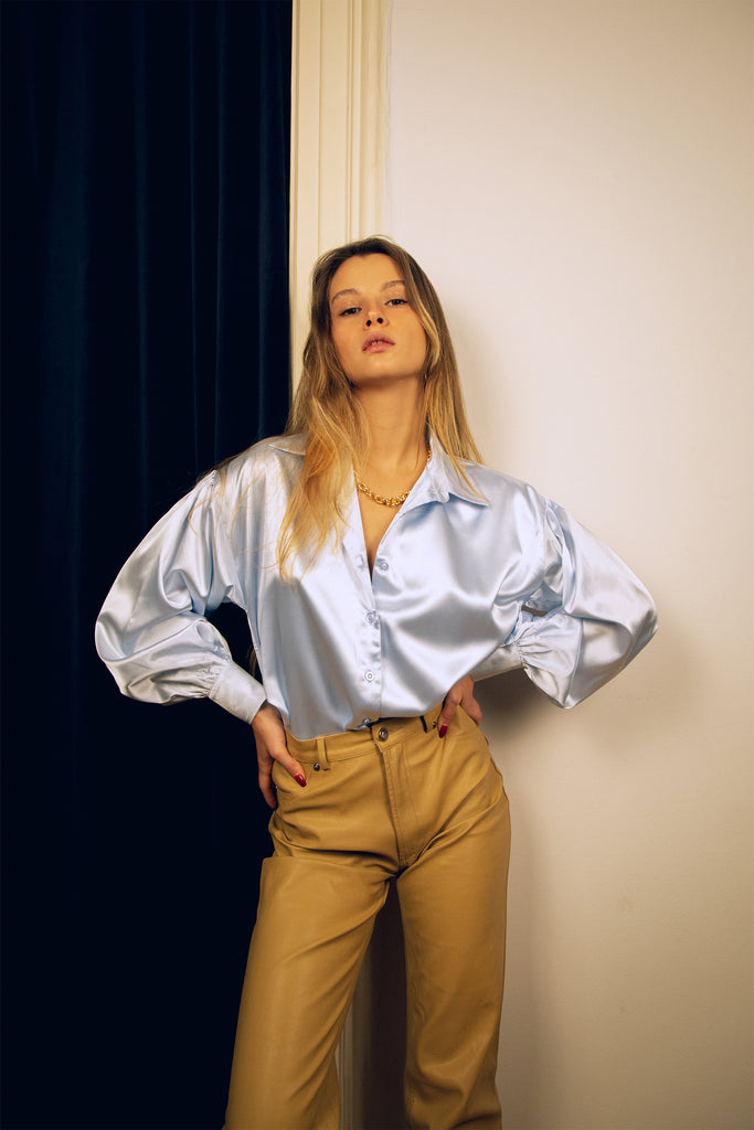 Toulouse Blouse Sky