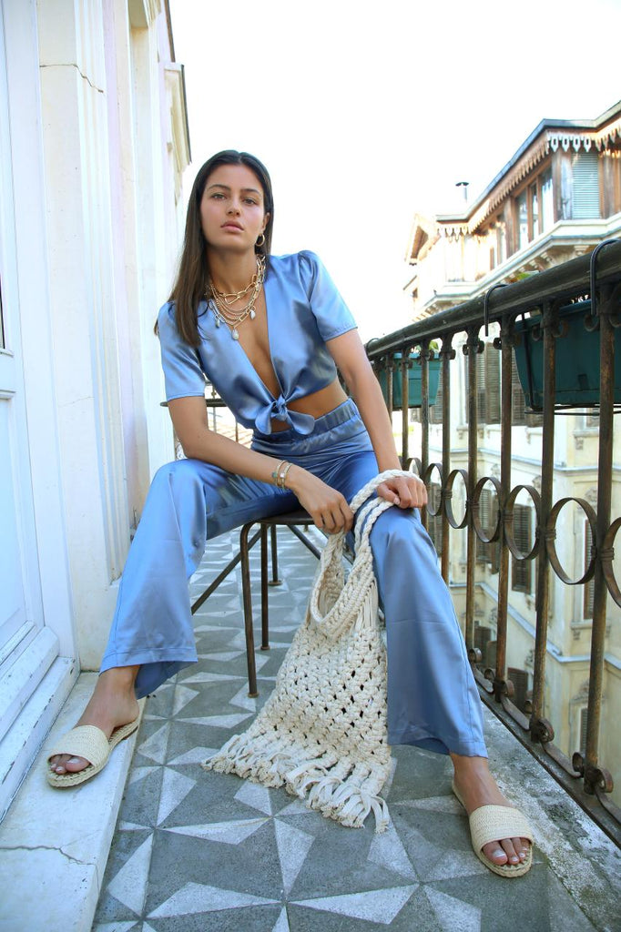 Cap Ferrat Pants in Indigo