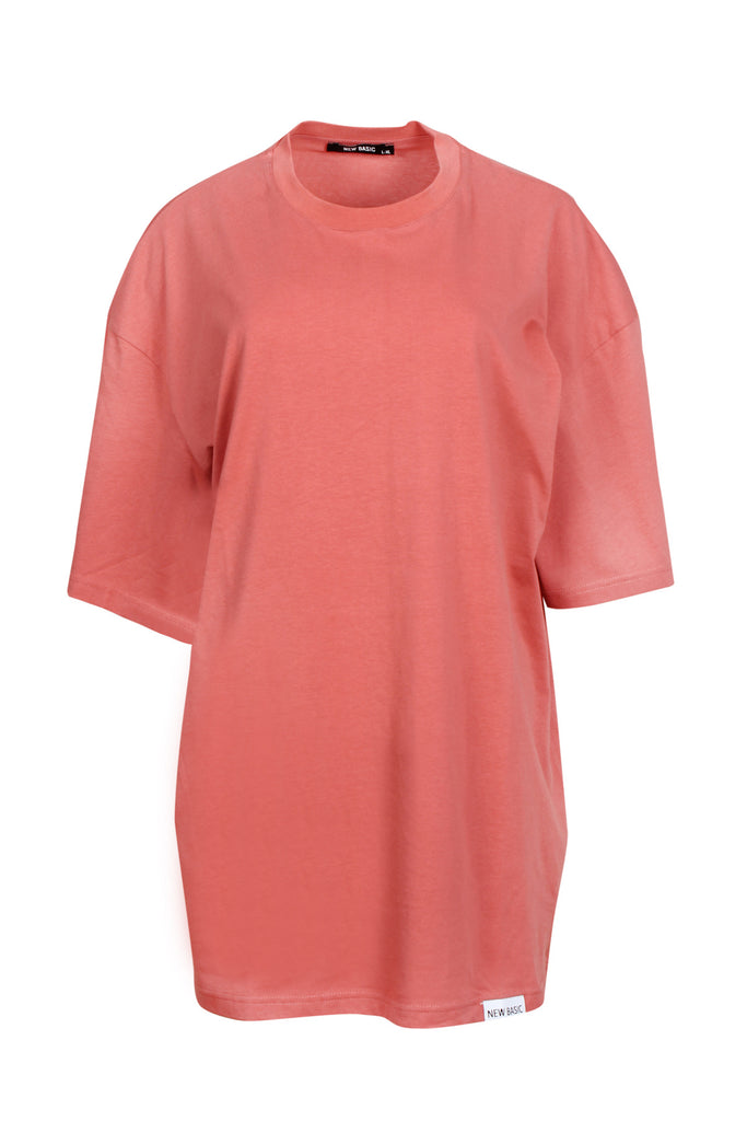 JBYJK X NEW BASIC Salmon Tee