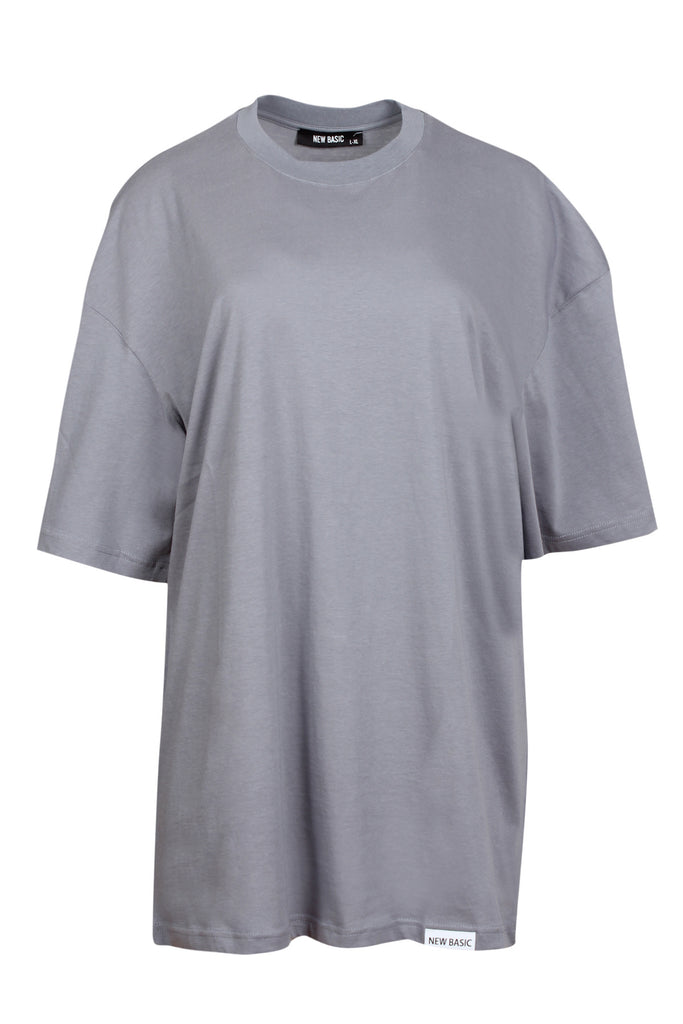 JBYJK X NEW BASIC Grey Tee