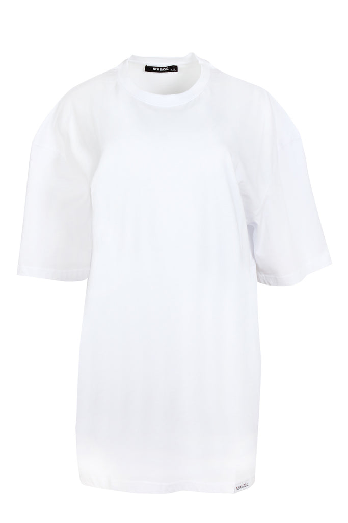 JBYJK X NEW BASIC White Tee