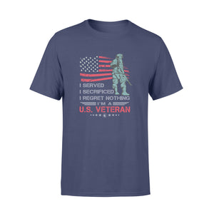 GearUnique I Served I Regret Nothing I'm A Us Veteran - Standard T-shirt
