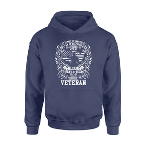 GearUnique Blood Sweat Tears I Own It Forever The Title Veteran - Standard Hoodie