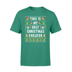 GearUnique This Is My Ugly Christmas Sweater Gift Standard T-shirt