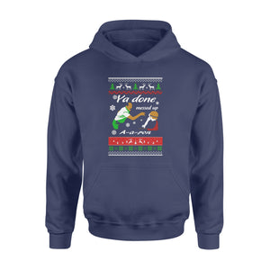 GearUnique Merry Christmas Funny Movies Ya Done Messed Up Aaron Ugly - Standard Hoodie