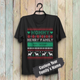 Custom Funny Christmas Family T-Shirt - Sweater Family