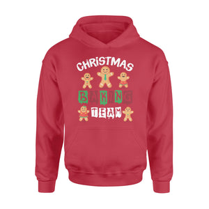 GearUnique Cute Christmas Baking Team Family Cookie Shirt - Standard Hoodie