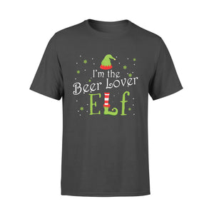 GearUnique I'm The Beer Lover Elf Christmas Gift Idea Xmas Family Standard T-shirt