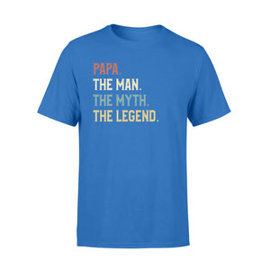 GearUnique Papa The Man The Myth The Legend Fathers' Day Family T-Shirt - Standard T-shirt