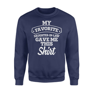 GearUnique Christmas Gift For Father Mother in Law Funny Birthday Gifts - Standard Fleece Sweatshirt