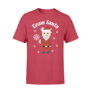 GearUnique Funny Christmas Shirt - Team Santa - Christmas Gifts - Standard T-shirt