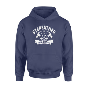 GearUnique Stepfather Mr. Fix It Funny Gift For Fathers Day - Standard Hoodie