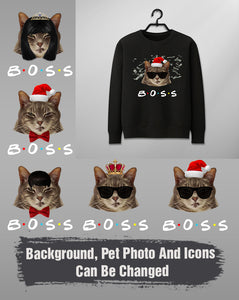 Custom Funny Christmas Sweater - Custom Your Boss