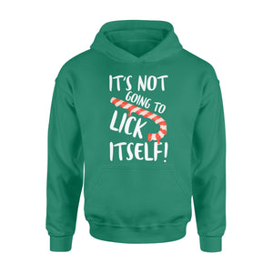 GearUnique Christmas Adult Funny Candy Cane Lick Humor - Standard Hoodie
