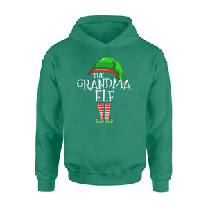 GearUnique Funny Family Christmas Gift The Grandma Elf Standard Hoodie