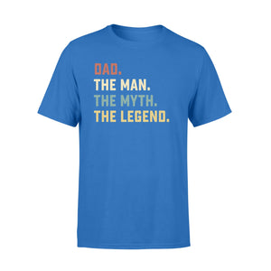 GearUnique Dad The Man The Myth The Legend Fathers' Day Family T-Shirt - Standard T-shirt