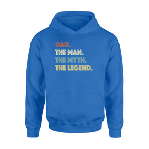 GearUnique Dad The Man The Myth The Legend Fathers' Day Family T-Shirt - Standard Hoodie