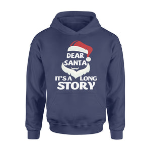 GearUnique Christmas Dear Santa It's Long Story Christmas Gift - Standard Hoodie