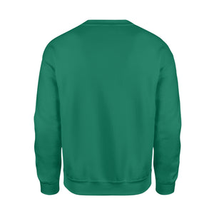 GearUnique Christmas Carol Bar Graph - Fun Math Holiday - Standard Fleece Sweatshirt