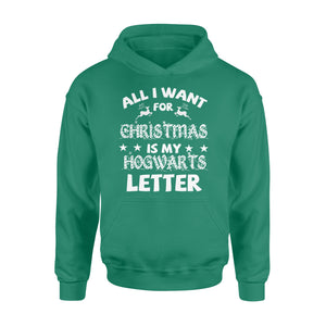 GearUnique Hogwarts Letter For Christmas - Funny Shirt - Standard Hoodie