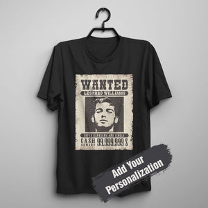 Custom Lifestyle T-shirt - Vintage Funny Wanted