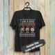 Custom Funny Christmas T-shirt - I Am A Dog Gentlemen/Dog Lady