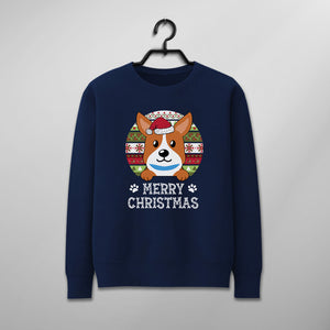 Custom Funny Pet Christmas Sweater - Merry Christmas Personalize With Cute Dog Icon