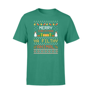 GearUnique Filthy Animal Ya Merry Christmas Ugly Sweater Standard T-shirt