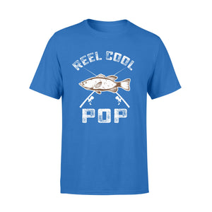 Gearunique Reel Cool Pop Fathers Day Gift Fishing Lover - Standard T-shirt