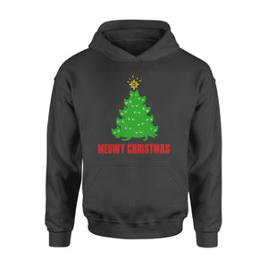 GearUnique Meowy Christmas Tree T-shirt Funny Gift For Xmas - Standard Hoodie