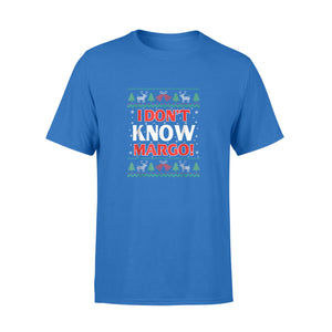 GearUnique Merry Christmas Vacation Funny Movies I Don't Know Margo - Standard T-shirt