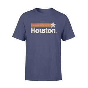GearUnique Houston Baseball H | Vintage H-Town Crush City Texas Gift Standard T-shirt