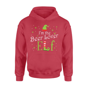 GearUnique I'm The Beer Lover Elf Christmas Gift Idea Xmas Family Standard Hoodie
