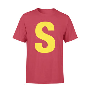 GearUnique Letter S Chipmunk Christmas Costume Tee Shirt Gift Standard T-shirt