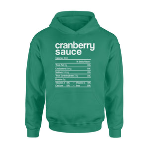 GearUnique Funny Christmas Nutrition Gift Cranberry Sauce Standard Hoodie