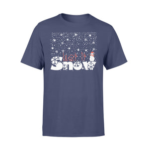 GearUnique Let It Snow Christmas T-shirt Gift For Family - Standard T-shirt