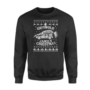 GearUnique Ugly Christmas Griswold Family Christmas Funny Gift - Standard Fleece Sweatshirt