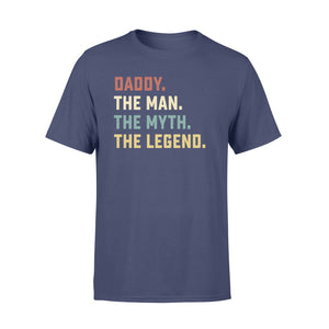GearUnique Daddy The Man The Myth The Legend Fathers' Day Family T-Shirt - Standard T-shirt