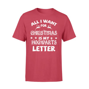 GearUnique Hogwarts Letter For Christmas - Funny Shirt - Standard T-shirt