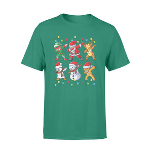 GearUnique Funny Christmas Gift Santa Reindeer Elf Snowman Ginger Dabbing Standard T-shirt