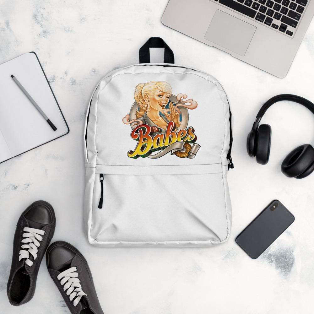 Custom backpack with logo