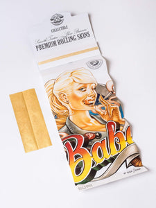 Gold Rolling Papers - Babes Papes First Edition