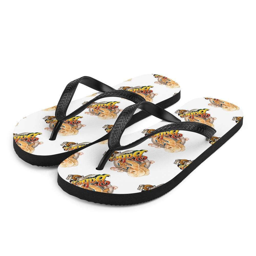 Babes Papes flip flops White / S Babes Papes® Flip-Flops