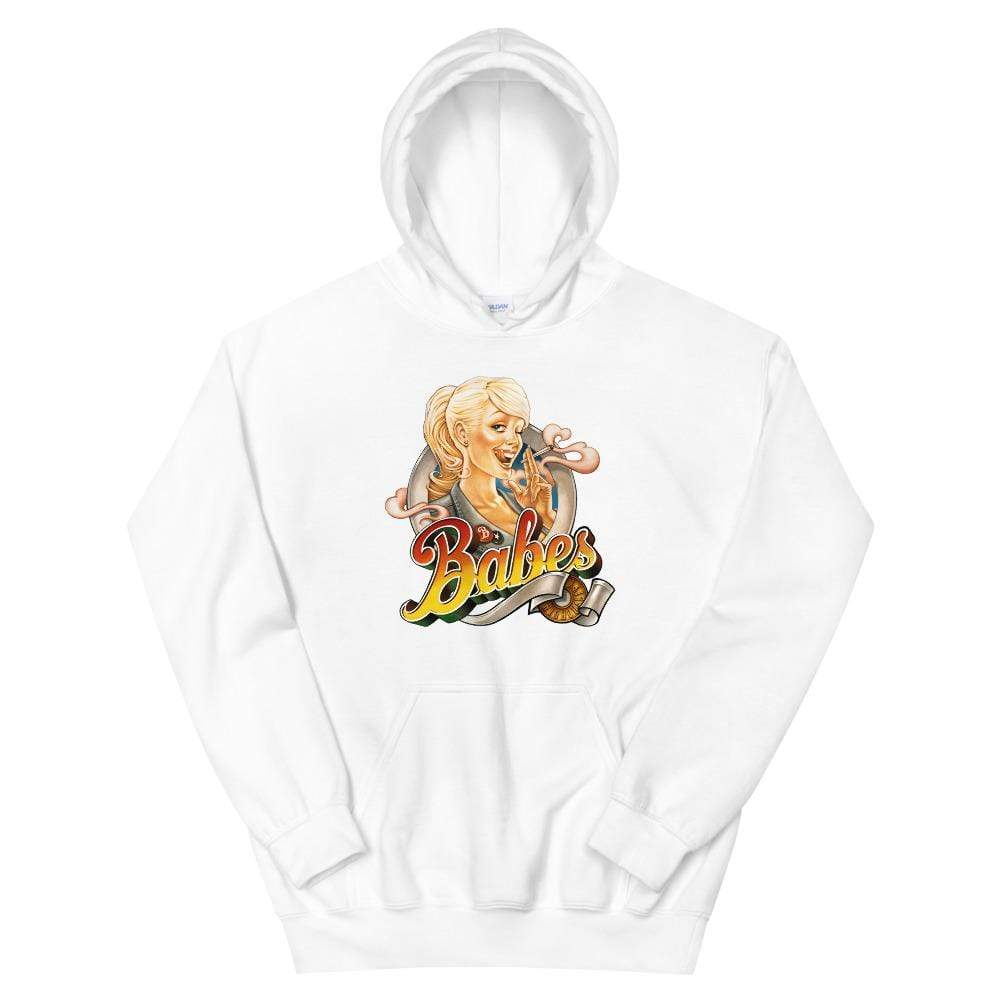 Babes Papes hoodies White / S Babes Papes® Unisex Hoodie (multi color)