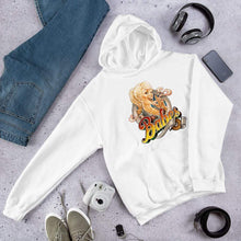 Load image into Gallery viewer, Babes Papes Graphic Hoodie in White