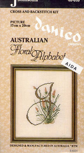 Australian Floral Alphabet: J-Johnsonia